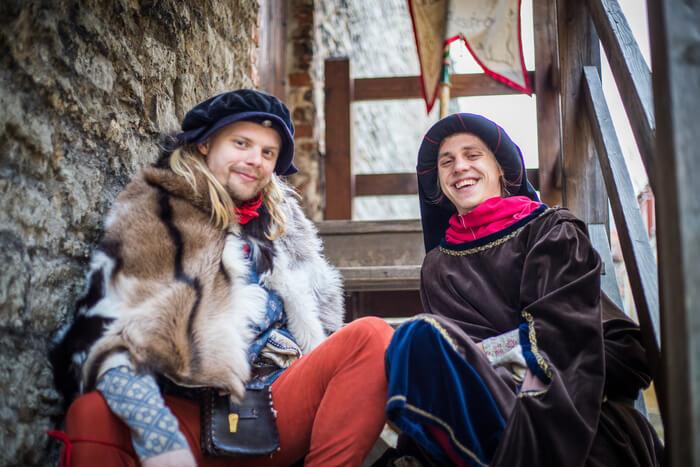 """867f8fafb1a """"Tallinn 800 – Revali linna sünnilugu"""", interaktiivne ajalooline etendus"""