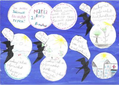 MAria Rootsi, 8aastane, Kivimäe põhikool