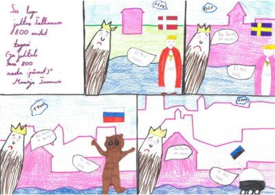 Maarja Truumure, 10aastane, kivimäe põhikool