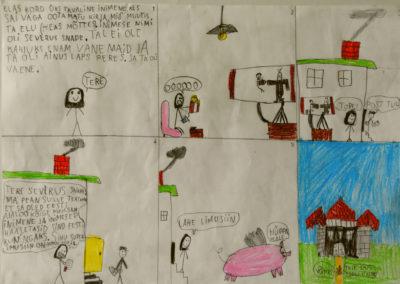 Mailill Kroon, 10aastane, gaia kool
