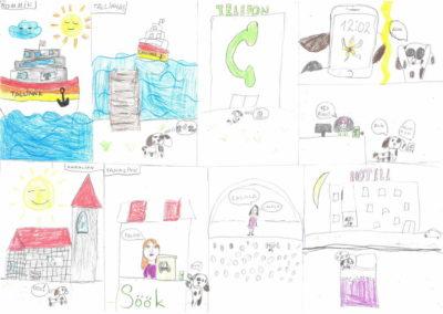 Vanessa Ivette Dela China, 9aastane, gaia kool