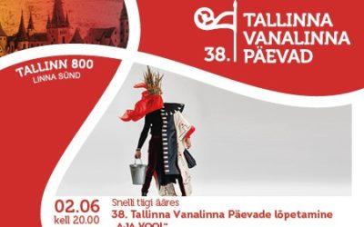 Harukordne lõpuetendus 38. Tallinna vanalinna päevadele