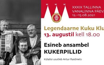 Tallinna Vanalinna Päevad taaselustavad 13. augustil kell 18.00 legendaarse Kuku Klubi