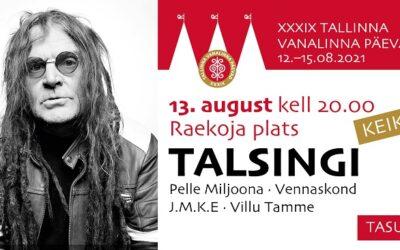 Tallinna Vanalinna Päevade teine päev toob lavale Eesti ja Soome pungi ning ühisnäituse
