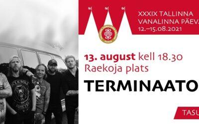 13. augustil kell 18.30 paneb Raekoja mürtsuma Terminaator