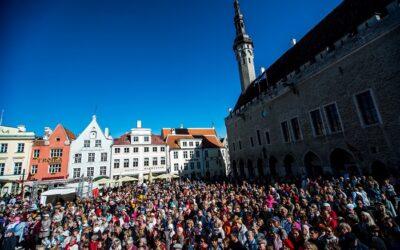 Tallinna Vanalinna Päevad pakuvad kiirtestimise võimalust ning alade vahel liikumiseks käepaela